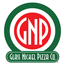 Glass Nickle Pizza