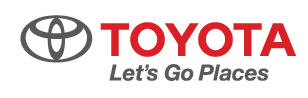 Toyota Let's Go Places logo